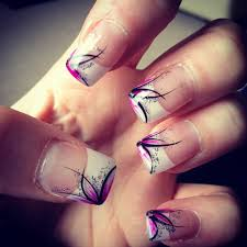 French Nail Art Designs 2014 Current Nail Art Design With White Tips Nail Designs 2014