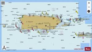 Puerto Rico Charts Puerto Rico And Virgin Islands Marine Chart Us25640_p414