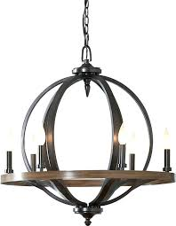 6 light chandelier candle style hampton bay charleston oil rubbed bronze