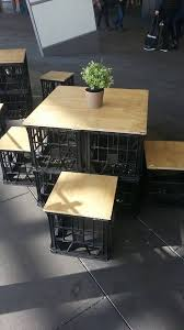 Discover thousands of images about Portable Milk Crate Furniture