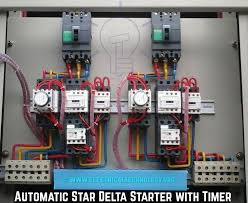 automatic star delta starter with timer wiring diagram star delta anly timer circuit diagram at Anly Timer Wiring Diagram