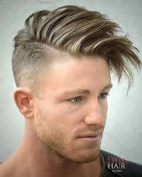 Mens Comb Over Hairstyle Hairstyle For Men To The Back Side 2017 Comb Over With Shaved