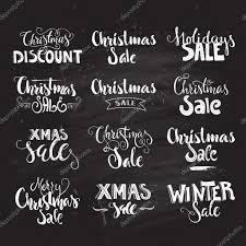 Christmas Sale Signs Stock Vector Favetelinguis199 91643314
