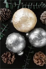 diy paint plastic ornaments diy texture painted ornaments week of ornaments