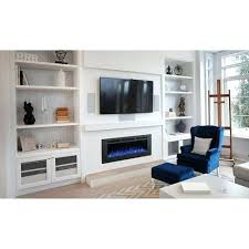 napoleon fireplaces allure phantom 50 in electric fireplace 50 electric fireplace touchstone sideline 50 recessed electric