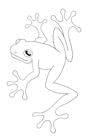 Free Printable Frog Coloring Pages For