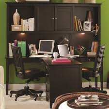 two person desk home office furniture. Marvellous Desk For Two Computers Person Workstation Black Wooden With Drawers And In Home Office Furniture