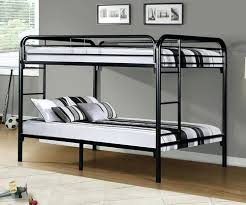metal bunk bed with desk underneath. Metal Full Bunk Beds Over Bed Black Silver  Loft . With Desk Underneath K