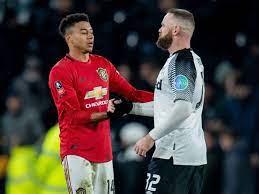 Jesse Lingard sends message to Wayne Rooney after Man Utd beat Derby -  Mirror Online