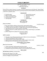 Example Of Accounting Resume Enchanting Best Accountant Resume Example LiveCareer