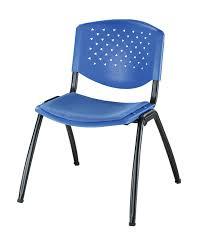plastic stackable blue school classroom student desk chairs