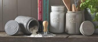 Retro Kitchen Storage Jars Black Ceramic Storage Jars Kitchen Cliff Kitchen