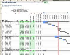 excel project gantt chart template free 8 best excel timeline templates images schedule templates