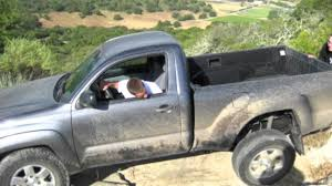 Toyota Tacoma Reg. Cab and 4door off roading - YouTube