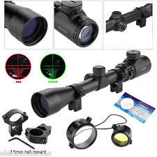 simmons protarget 4 12x40. 3-9x40 hunting rifle scope sight red green illuminated w/ 11mm mount telescopic simmons protarget 4 12x40