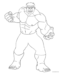 Hulk Coloring Pages Free Printable For Kids Cool2bkids 8501027