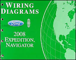 2008 ford expedition lincoln navigator wiring diagram manual original