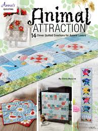 Animal Quilt Patterns Mesmerizing Animal Attraction Quilt Pattern Book