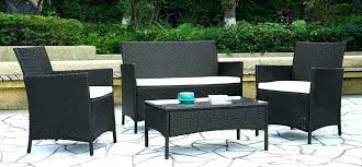 rattan patio set chairs top rattan patio set opinion home depot outdoor furniture sectional table and