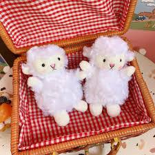 Móc khóa thú nhồi bông chú Cừu dễ thương PK59 giảm chỉ còn 33,000 đ