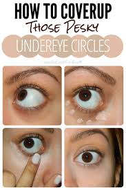 10 steps how to apply concealer for dark circles 1
