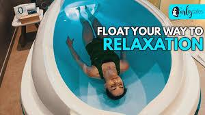 Blue Light Flotation Beat Stress With Dubais Innovative Floatation Therapy