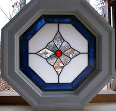 octagon stained glass octagon window jamb opening stained glass panel octagon window 4 jamb opening stained