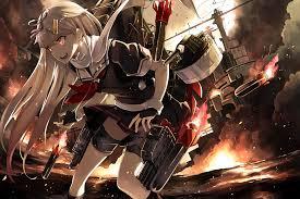 戦場で活躍する艦これ画像