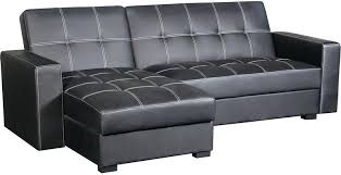 dhp nola white faux leather futon sofa beds and futons the brick