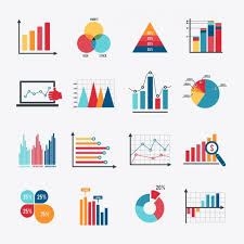 Vector Graphs And Charts Infographic Elements Collection Premium Vector Data