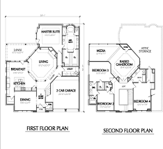 two y residential house floor plan with elevation lovely 2 story house plans with garage sensational