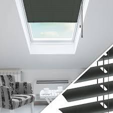 Aluminium Jalousie Nach Maß Für Dachfenster Farbe 2037 Anthrazit