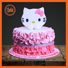 Hello Kitty Fondant Cake Delivery All Over Karachi