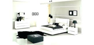 italian white bedroom furniture set pure makes a clear statement modern gloss