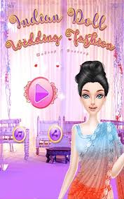 indian doll wedding fashion makeup and
