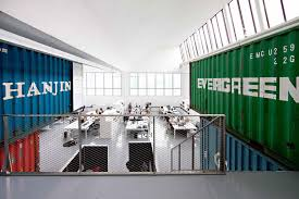 shipping containers office. Group8 Shipping Container Office - Interior Containers W