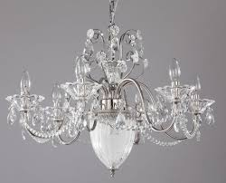 Diamant Crystal Kronleuchter Ulana Nickel Kronleuchter