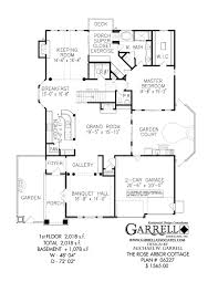 rose arbor cottage house plan 06227 1st floor plan