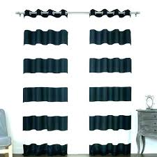 rugby jaclyn love curtains hemstitch white stripe gray and striped blue horizontal
