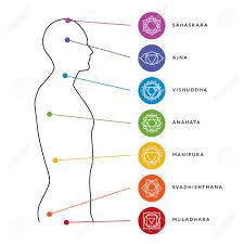 Chakra System Chart Chakra System Of Human Body Chart Seven Chakra Symbols Location