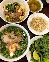Vietnamese Pork & Seafood Noodle Soup