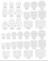 Wilton Round Cake Serving Chart Wilton Wedding Cake Serving Chart Idea In 2017 Bella Wedding