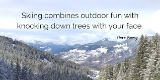Skiing Quotes Gorgeous Best Ski Quotes New Gen's Top 48 New Generation Ski School