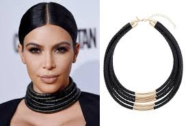 black and gold rope choker at top 25 photo courtesy of instyle com