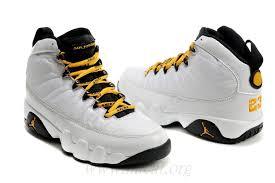 jordan shoes 2019. 2015 collection jordan retro 9 mens basketball shoes white black yellow 61250-1077 2019 l
