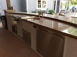 outdoor kitchen countertops material part 1