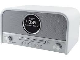 soundmaster nr850 retro bluetooth speaker with fm dab radio cd player cleverstuff