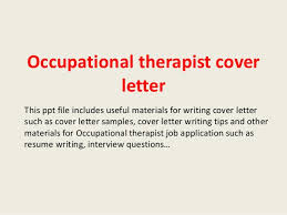 Occupational Therapist Cover Letter 1 638 Cb Bunch Ideas Of Cover
