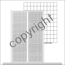 1 1000 Chart Number Chart 1 1000 Blank Chart