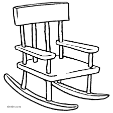 Rocking chair drawing Shutterstock Agree Timtimcom Free Drawing Of Rocking Chair Bw From The Category Building Home